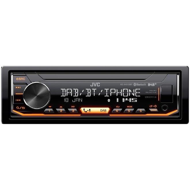 JVC KD-X451DBT Autoradio DAB+ en bluetooth