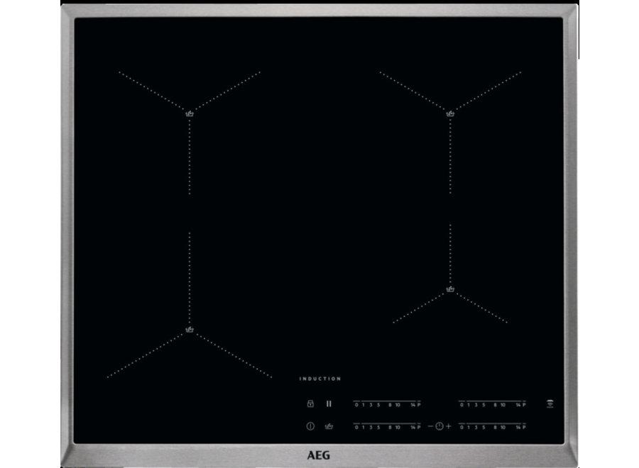 AEG IAE64411XB Inbouw Inductie Kookplaat 60 cm