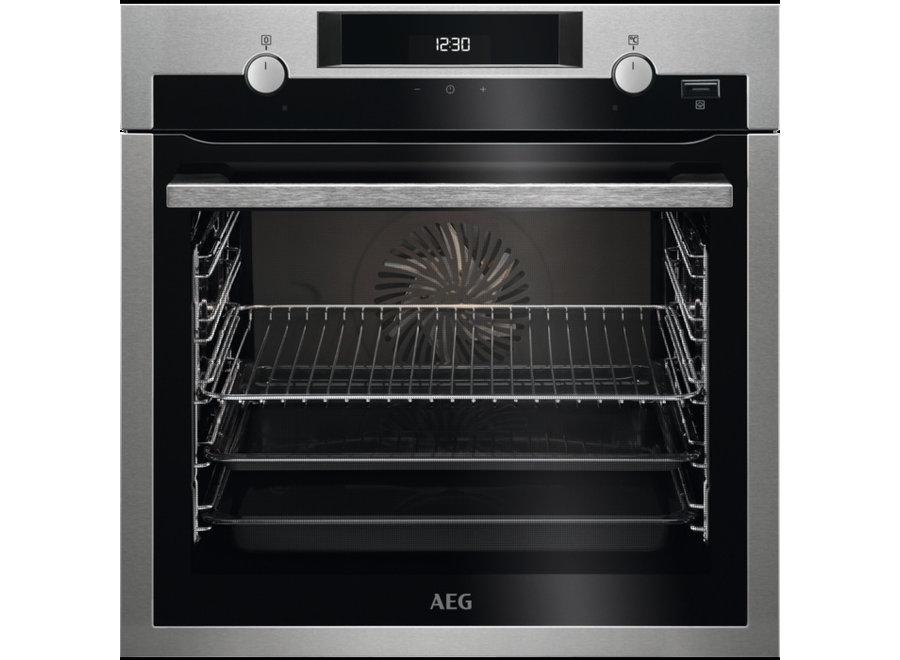 AEG BCS455020M SteamBake - Inbouw oven met stoom