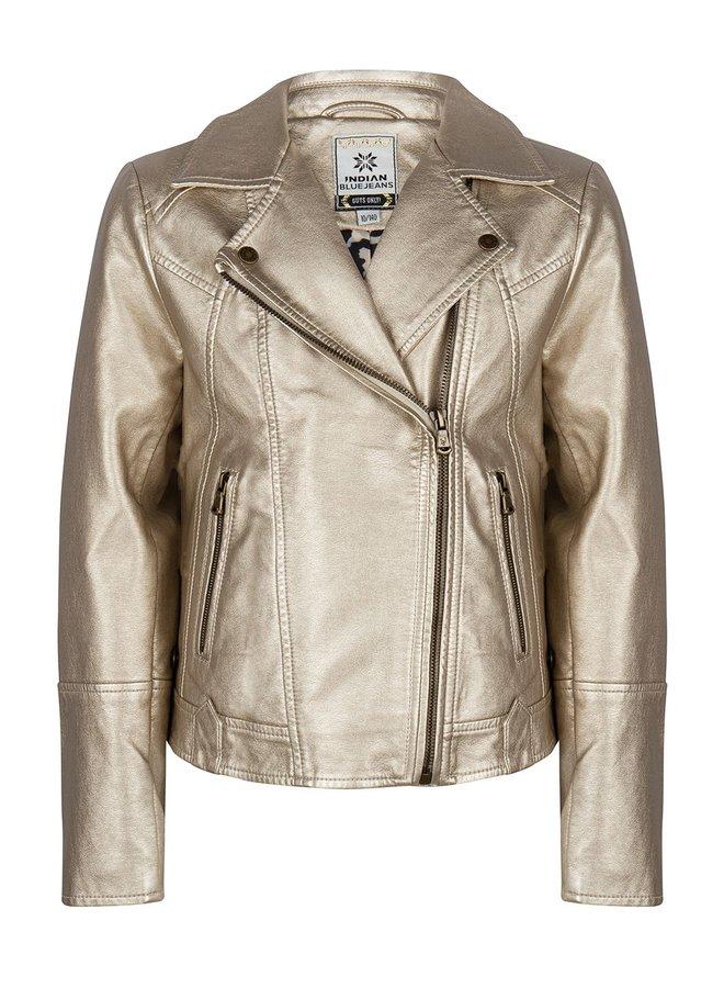 Biker Jacket Gold