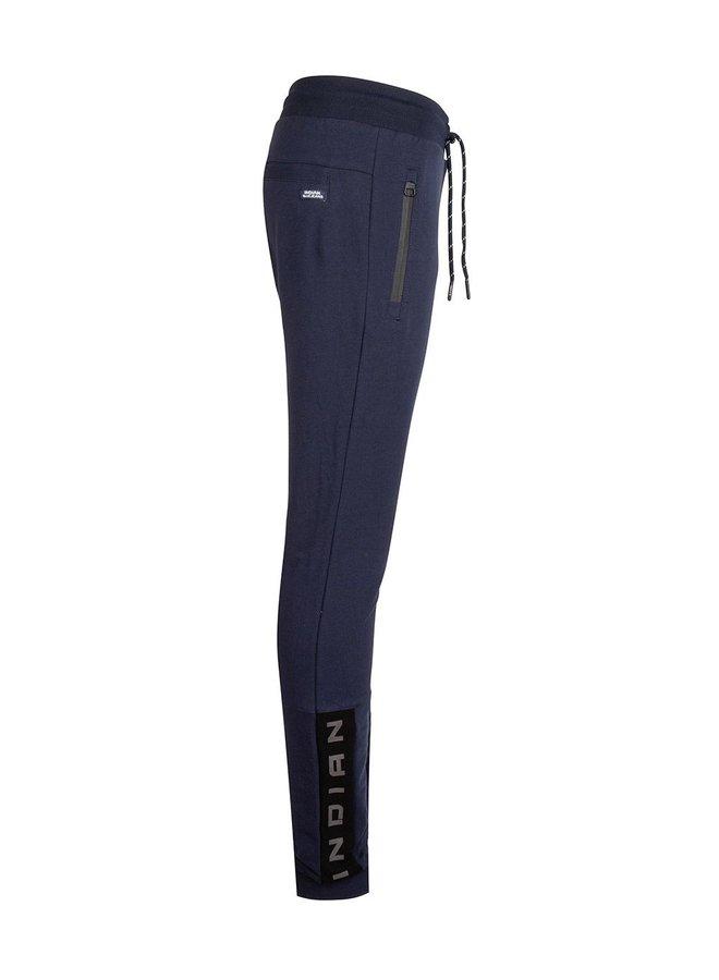 Jog Pant Basic Zip Navy Blue
