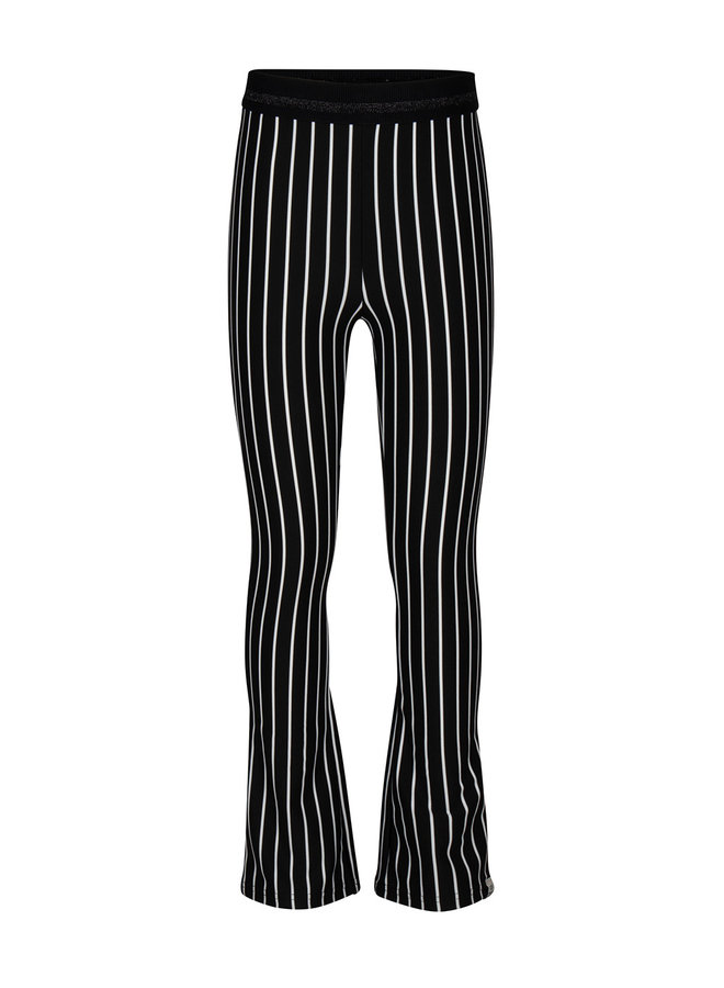 Striped Flare Pants Striped