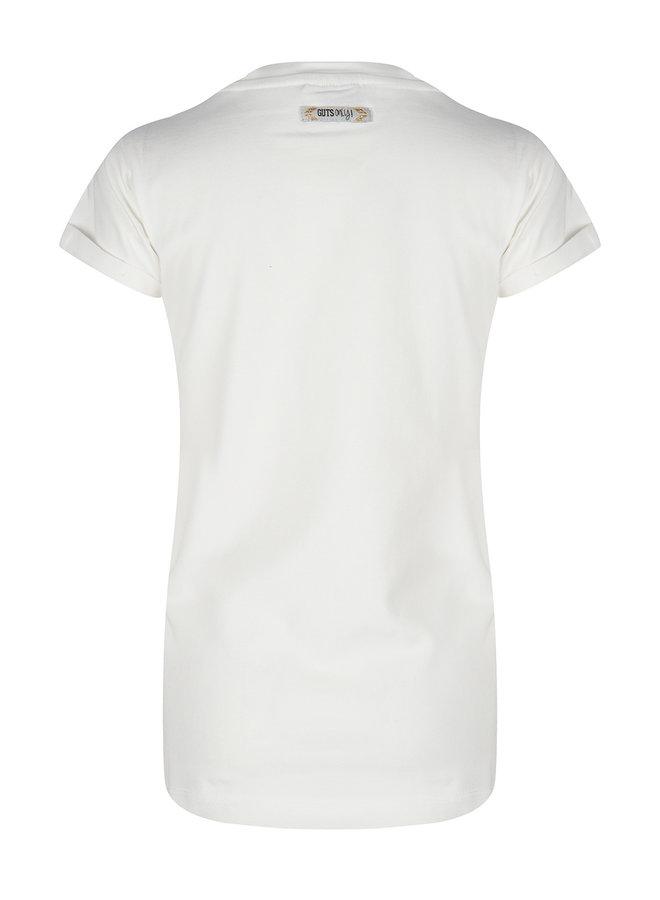 T-Shirt Ss Eye Off White
