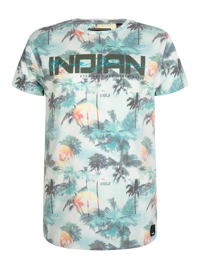 T-Shirt Ss Fancy Indian Fancy Print