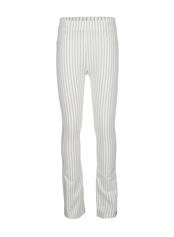 5-Pocket Flare Pants Striped