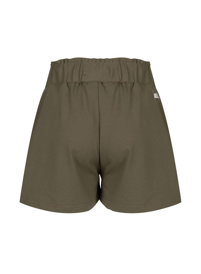Paperbag Shorts Olive