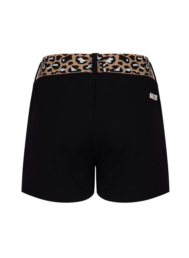 Chino Shorts Belt Black