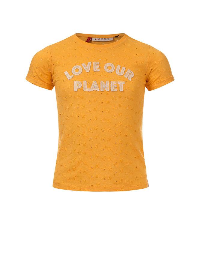 Little t-shirt s. sleeve Vanilla 100% Cotton