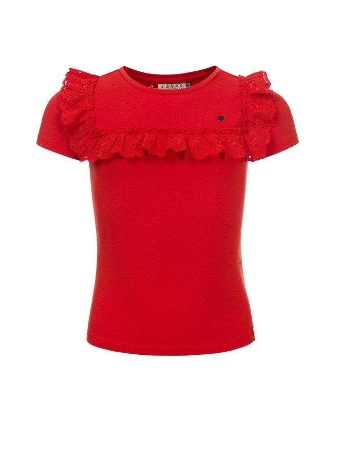 Little t-shirt s. sleeve Red Apple