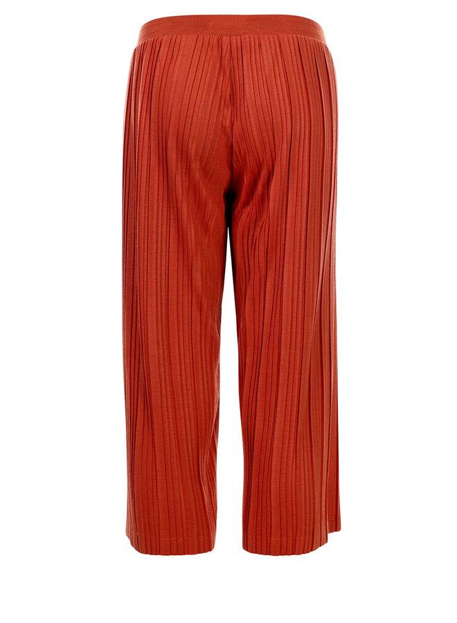 10Sixteen Wide leg plisse pants Terra