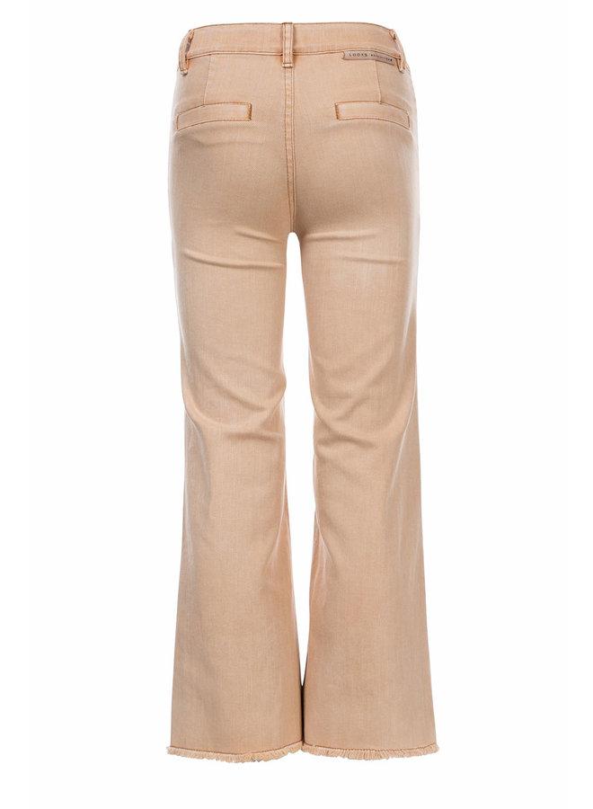 10Sixteen Wide leg pants Peach