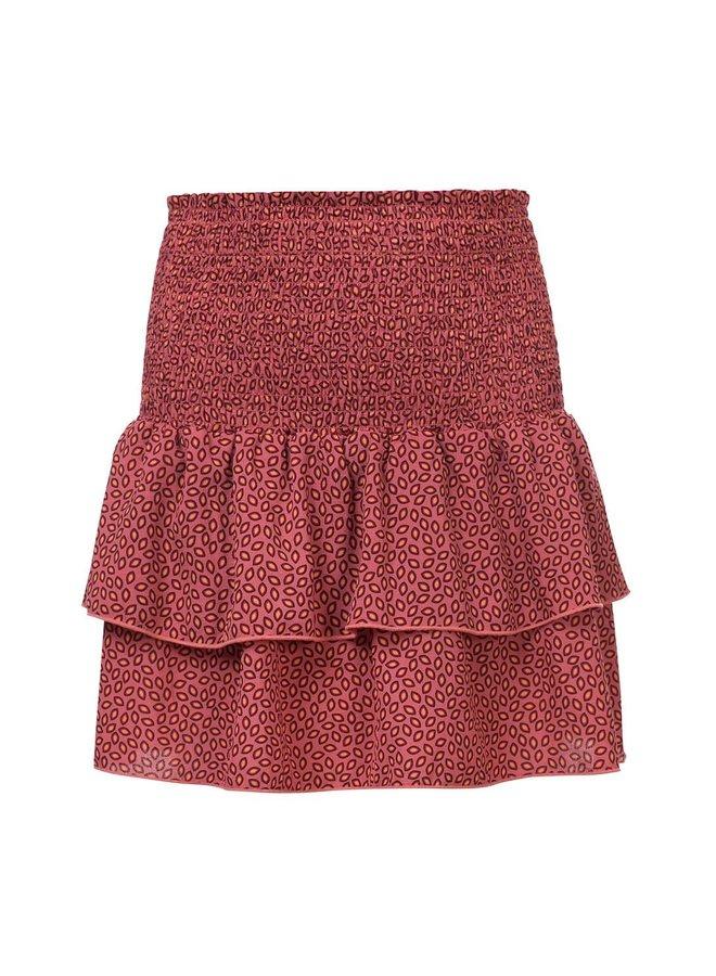 10Sixteen printed skirt Blush