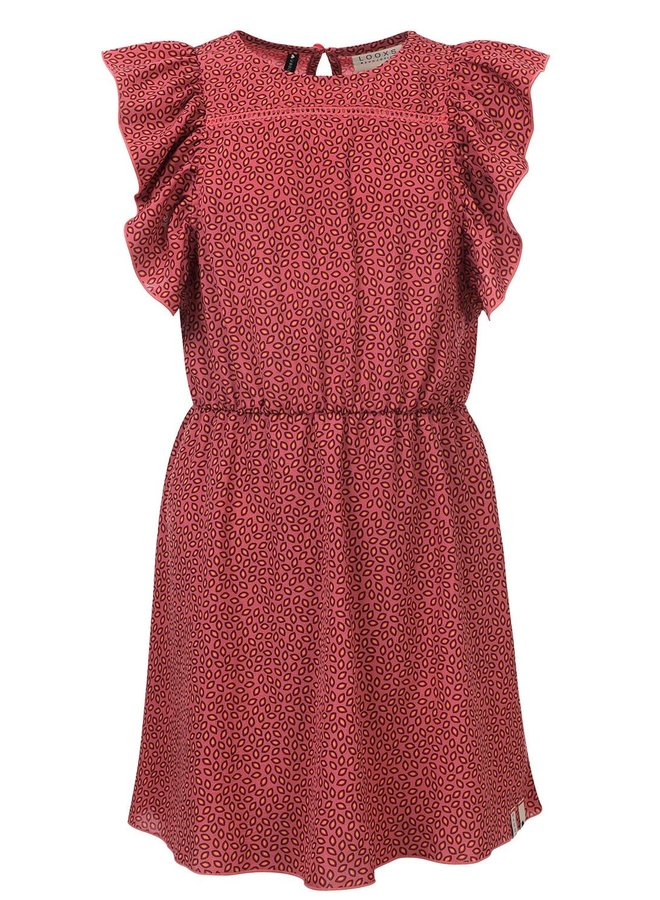 10Sixteen printed dress Blush
