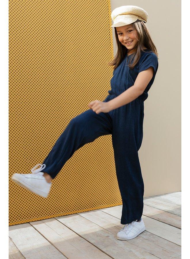 10Sixteen Jumpsuit Oxford Blue