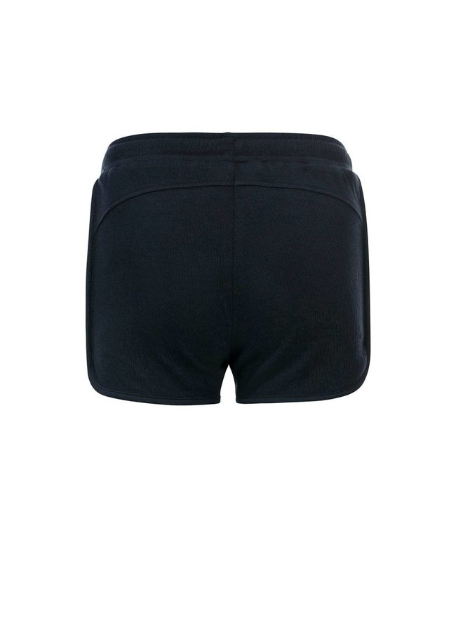 10Sixteen Crinkle jersey shorts Oxford Blue