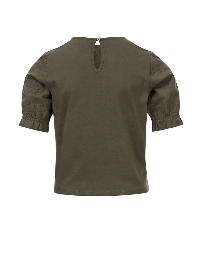 10Sixteen Broidery top Forrest