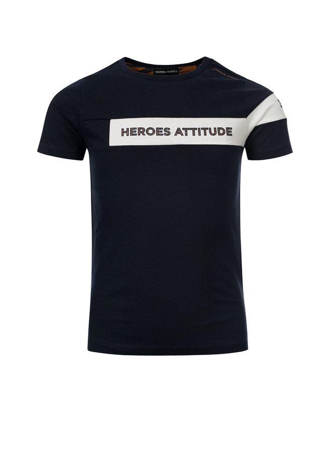 TIM T-shirt Marine 1