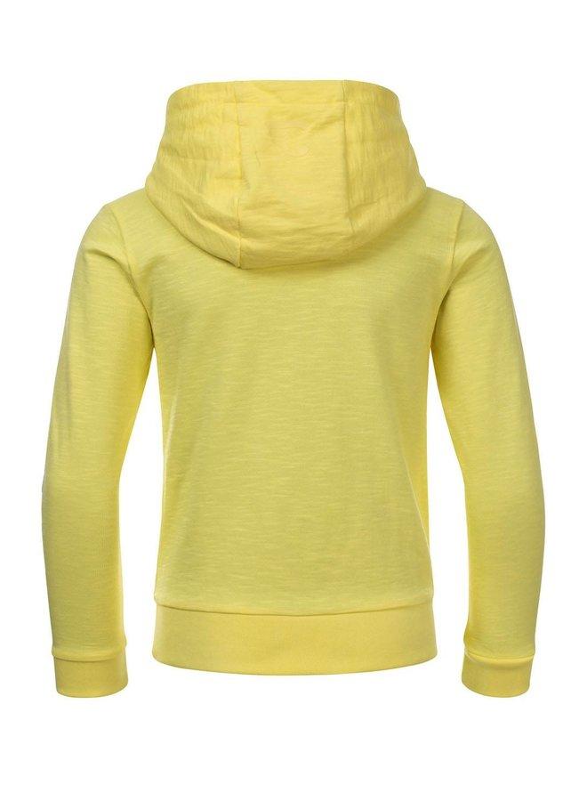 STEFAN hoody sweater LEMON