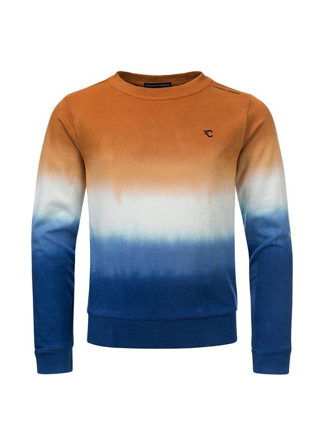 CAS Crewneck dip dye Sweater SPICES