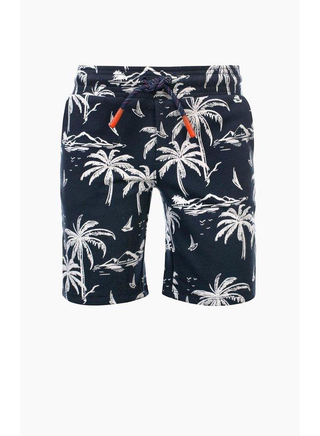 BINK sweat shorts with lycra AO Isla ISLAND PRINT