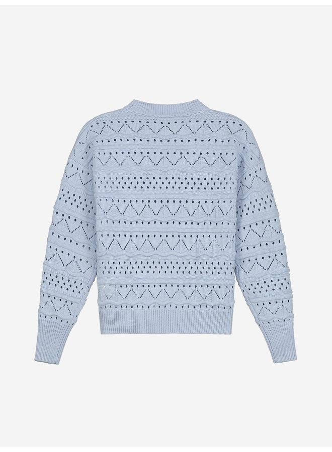 Anka Sweater Soft Blue