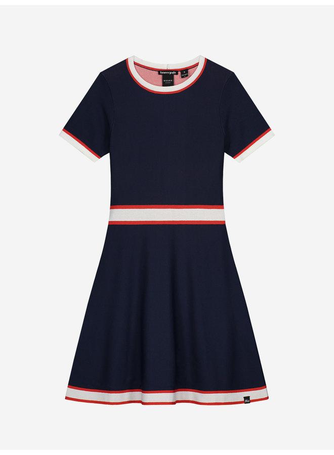 Ann Jintha Dress Royal Blue