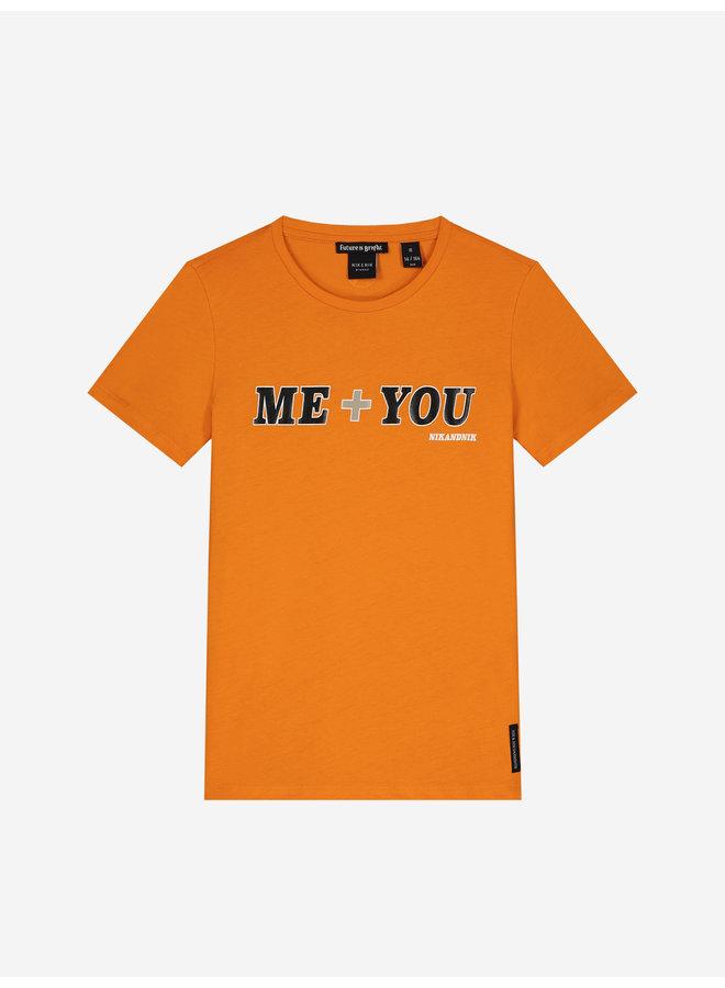 Me + You T-Shirt Orange