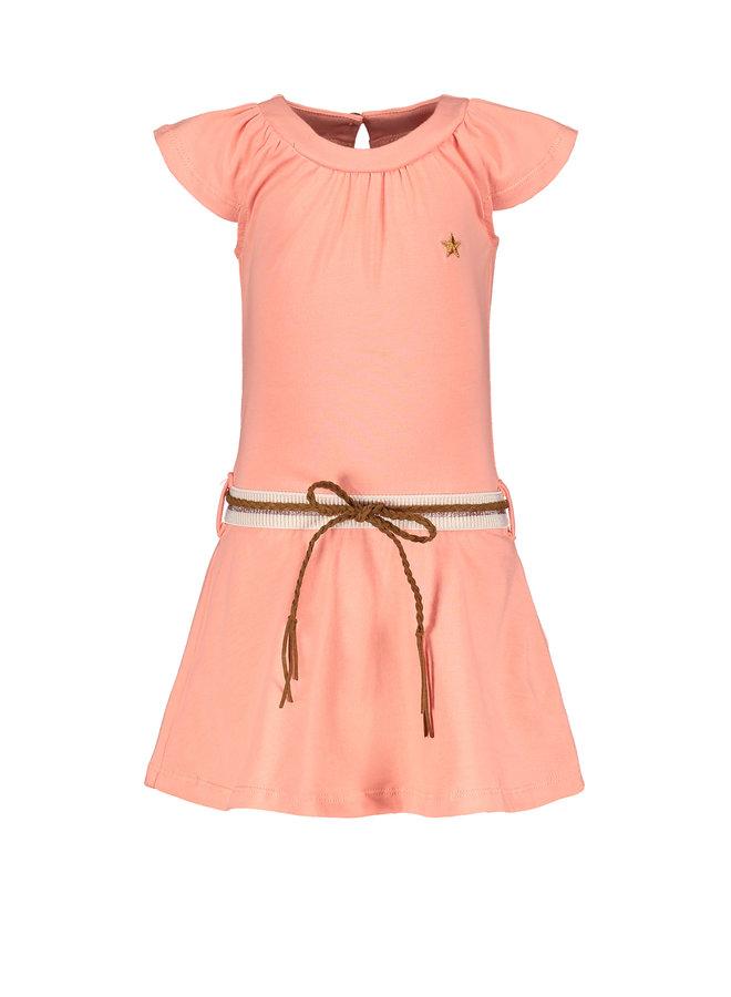 Flo baby girls jersey dress Bubblegum