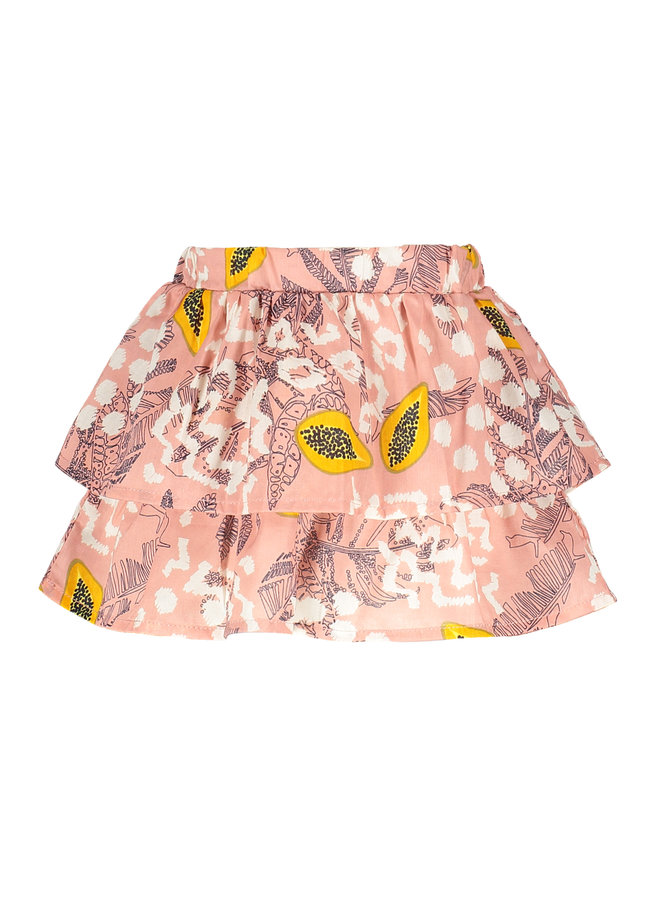Flo baby girls AO woven skirt Pink papaya
