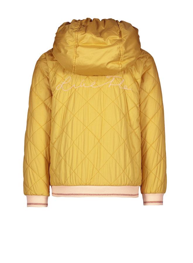 Flo girls hooded summer jacket Honey