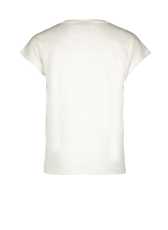 Flo girls jersey tee LIKE FLO Off white