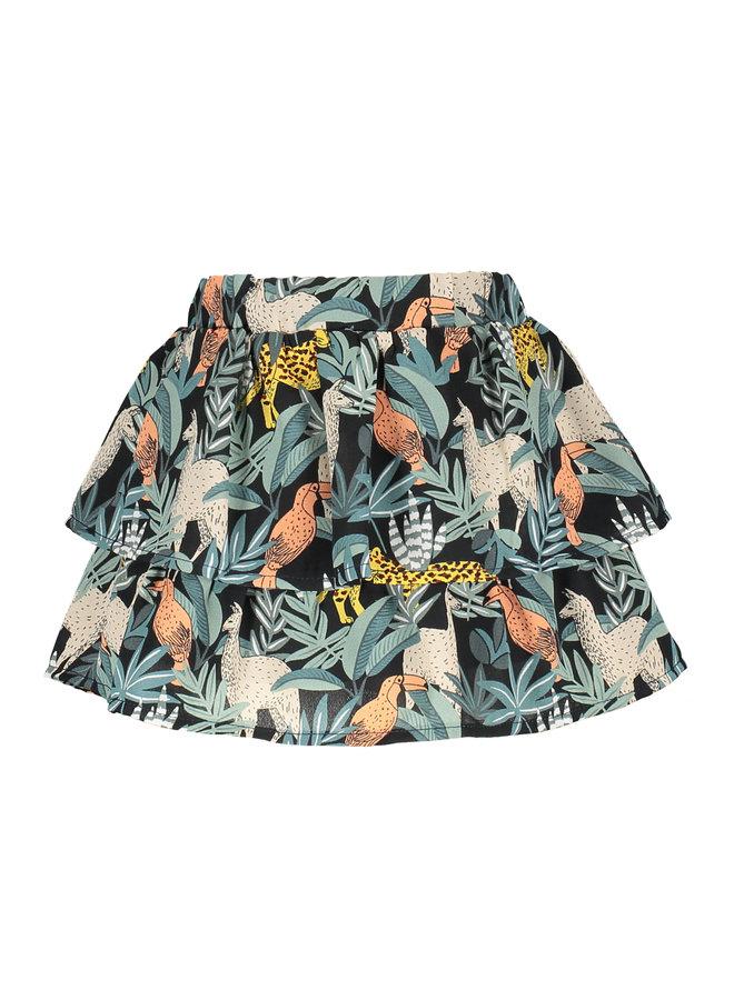 Flo baby girls AO woven skirt Leaf