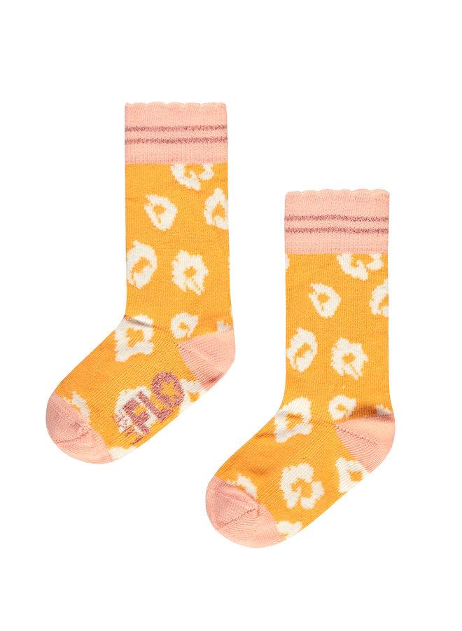 Flo baby girls kneesock Sunflower