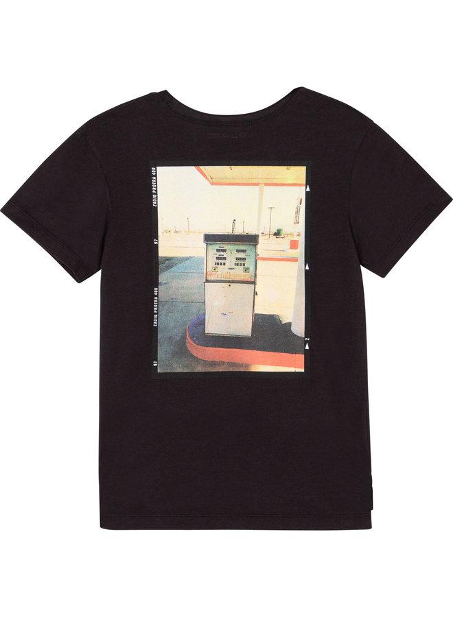 ZADIG&VOLTAIRE Jongens T-Shirt Korte Mouwen Zwart X25257