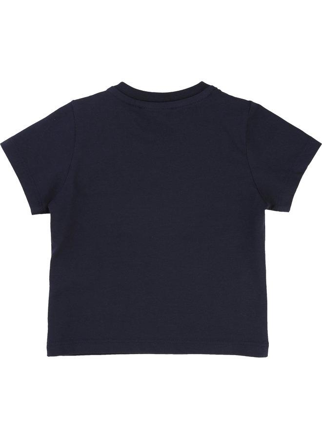 BOSS Baby's T-Shirt Korte Mouwen Marine J05P01