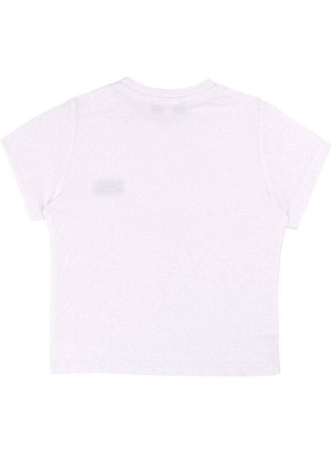 BOSS Baby's T-Shirt Korte Mouwen Wit J05P01
