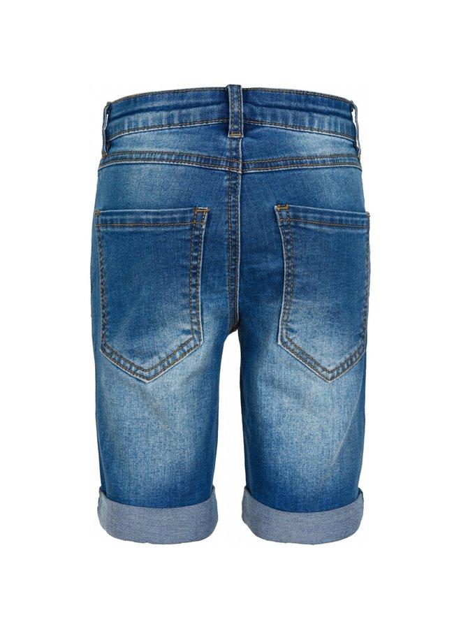 The New Slim Shorts Lt. Blue Denim Light Blue Denim
