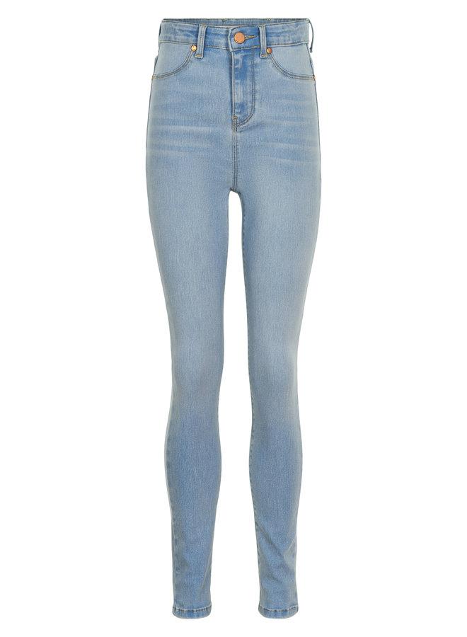 Lili Super High Waist Jeans Light Blue Denim Wash