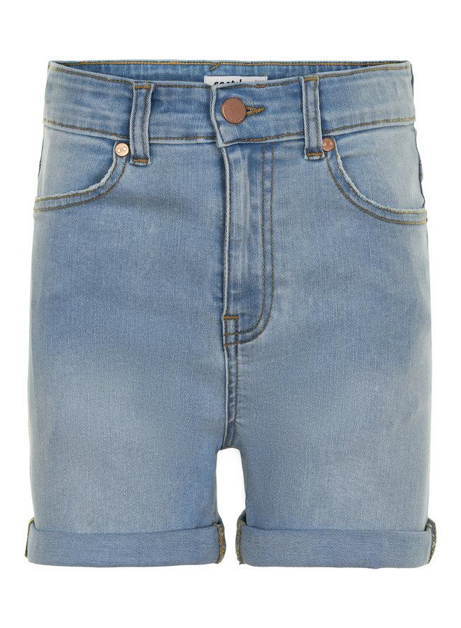 Moon Shorts Light Blue Denim Wash