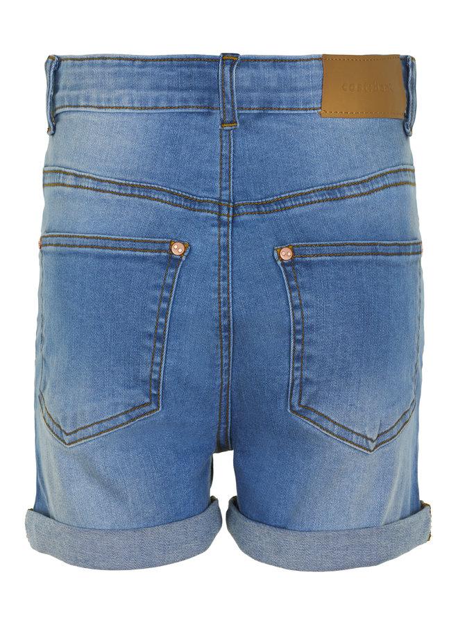 Jowie Shorts Medium Blue Denim Wash