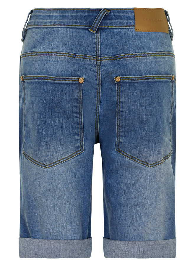 Jowie Shorts Grey Denim Wash