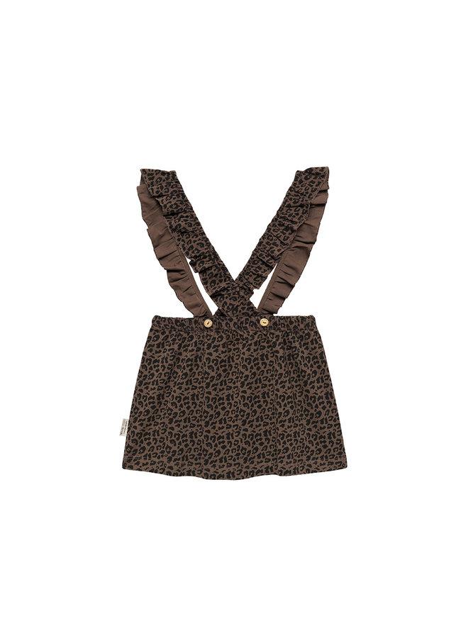 Salopette Dress Fondue Fudge