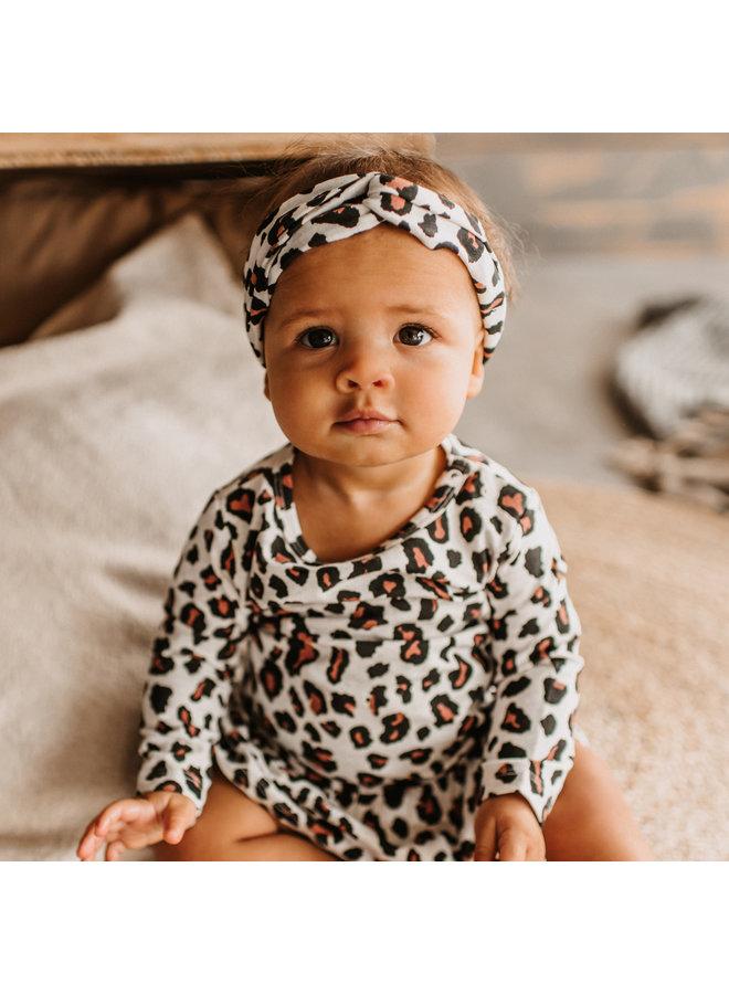 Leopard   Twisted Headband Terra