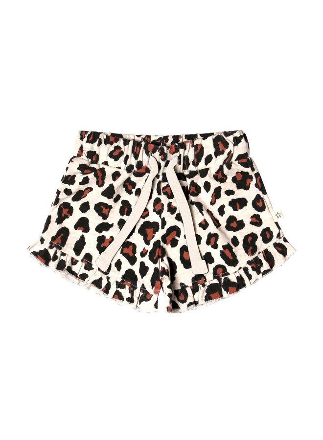 Leopard | Ruffle Shorts
