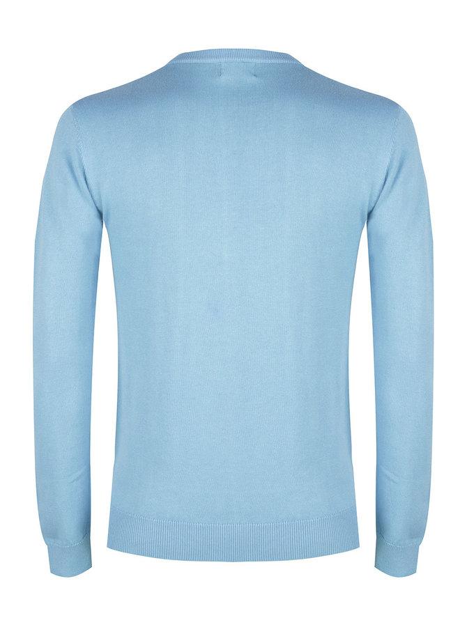 Knitwear Crewneck Soft Blue