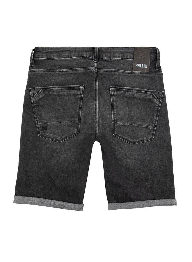 Duux Shorts Black Black Denim