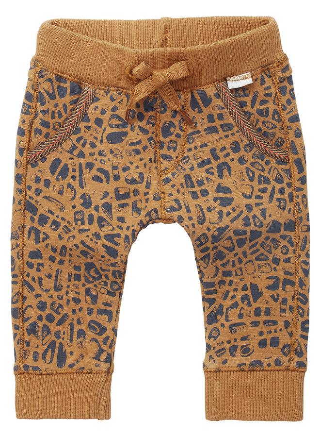 B Pants regular fit sweat-track Terracina Bistre