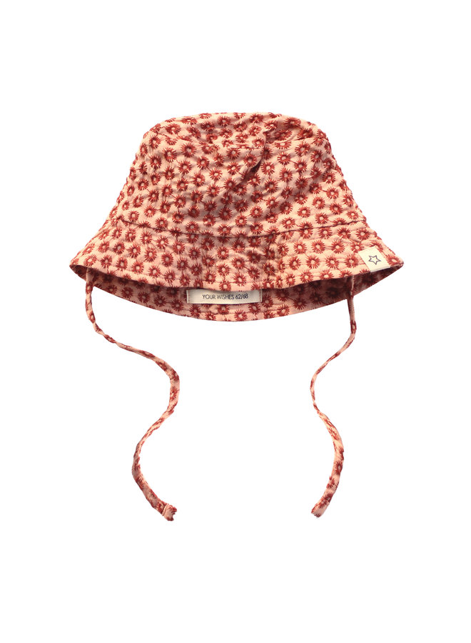 Broderie Terra | Summer Hat Peach