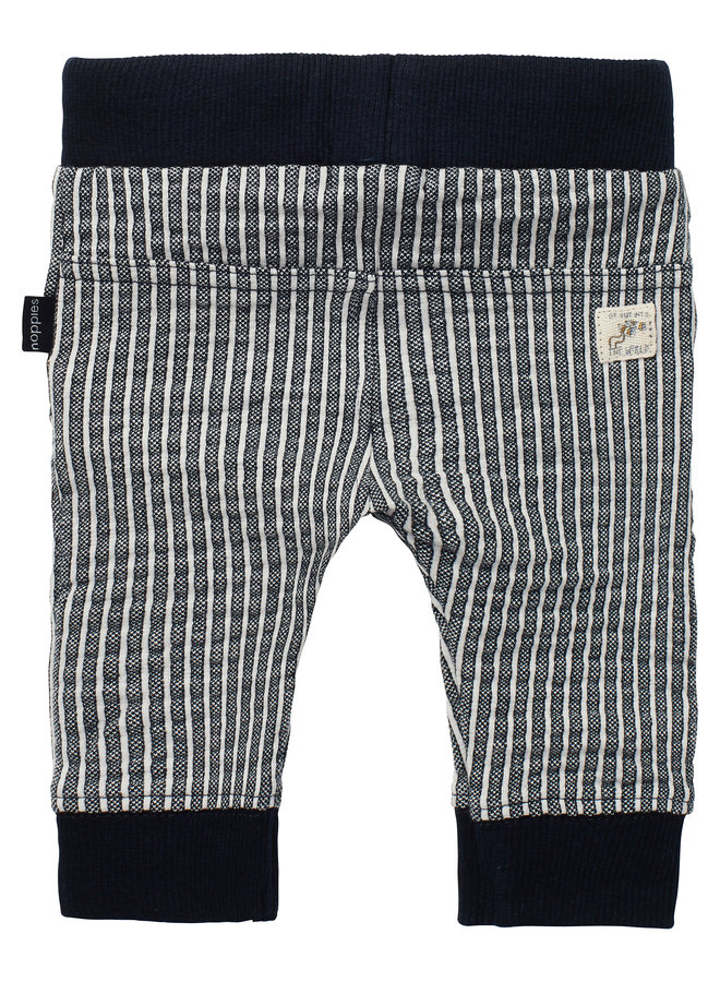 B Slim fit Pants Thame YD Str Dark Sapphire