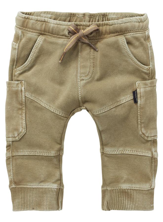 B Pants regular fit sweat-track Trenton Gothic Olive
